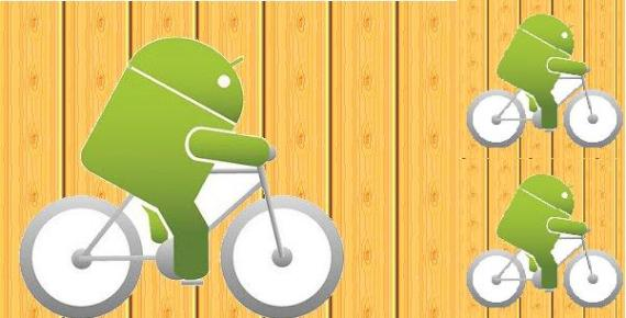 Cycling with Android Apps is Fun