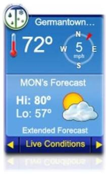 Get Weather Forecast at Your Gadget Now
