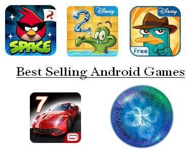 Best Selling Android Games