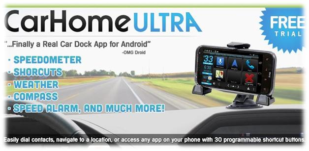 Easy to Use Android Apps in the Car