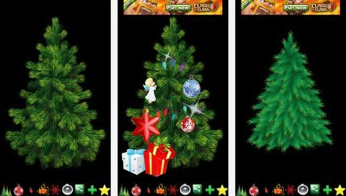 Decorate your own Christmas tree on your Android