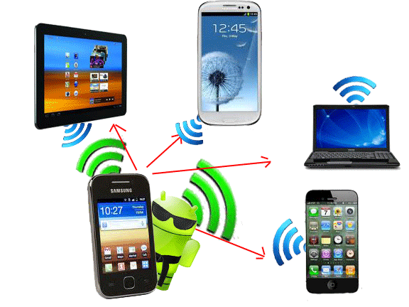 How to Use Your Android Phone or Tablet as a Wi-Fi Hotspot